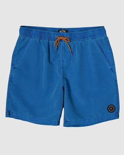 0 All Day Overdye Layback Boardshorts Blue 9572439 Billabong