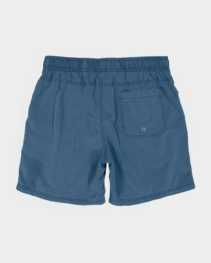 "1 ALL DAY OVERDYE 17"" LAYBACK BOARDSHORT Blue 9572439 Billabong"