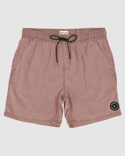 0 All Day Overdye Layback Boardshorts Pink 9572439 Billabong
