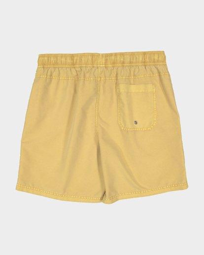1 ALL DAY OVERDYE LAYBACK BOARDSHORTS Yellow 9572439 Billabong