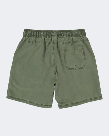 "1 ALL DAY OVERDYE 17"" LAYBACK BOARDSHORT Green 9572439 Billabong"