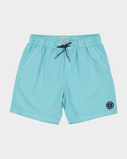 "0 ALL DAY OVERDYE 17"" LAYBACK BOARDSHORT Blue 9572439 Billabong"