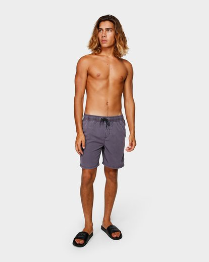 5 ALL DAY OVERDYE LAYBACK BOARDSHORTS Purple 9572439 Billabong