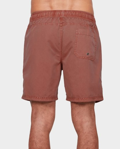 2 All Day Overdye Layback Boardshorts Red 9572439 Billabong