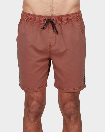 0 ALL DAY OVERDYE LAYBACK BOARDSHORTS Red 9572439 Billabong