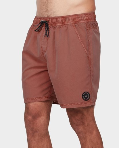 1 All Day Overdye Layback Boardshorts Red 9572439 Billabong