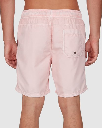 7 All Day Overdye Layback Boardshorts Pink 9572439 Billabong