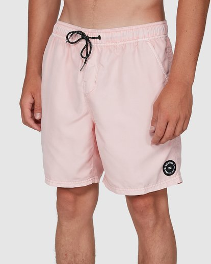 6 All Day Overdye Layback Boardshorts Pink 9572439 Billabong