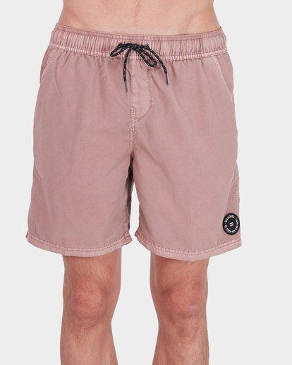 2 All Day Overdye Layback Boardshorts Pink 9572439 Billabong