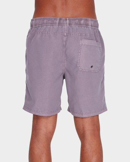 2 All Day Overdye Layback Boardshorts Purple 9572439 Billabong