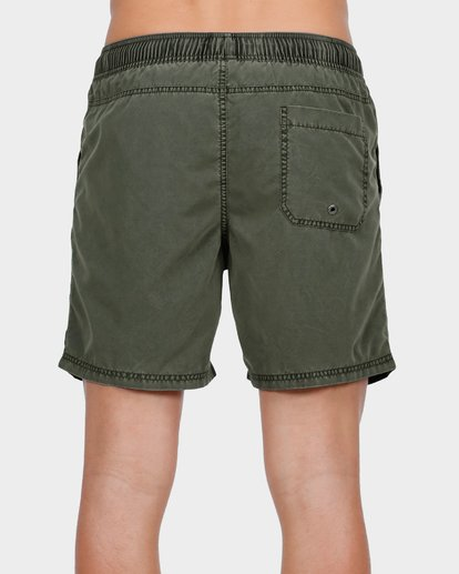 4 ALL DAY OVERDYE LAYBACK BOARDSHORTS Green 9572439 Billabong