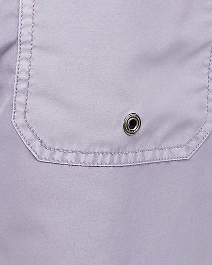 12 All Day Overdye Layback Boardshorts Purple 9572439 Billabong