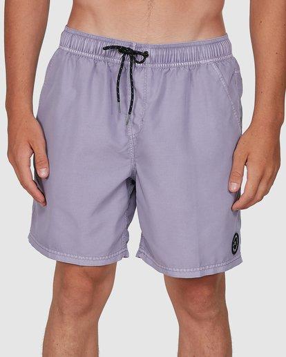 5 All Day Overdye Layback Boardshorts Purple 9572439 Billabong