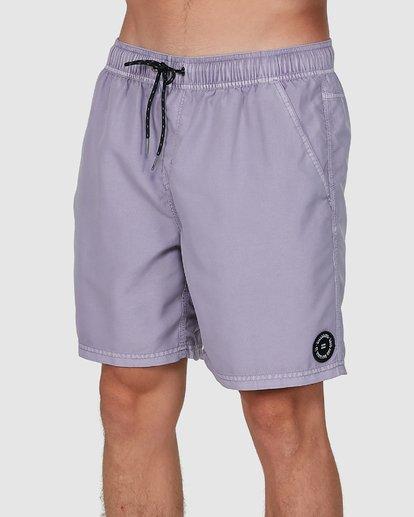 3 All Day Overdye Layback Boardshorts Purple 9572439 Billabong