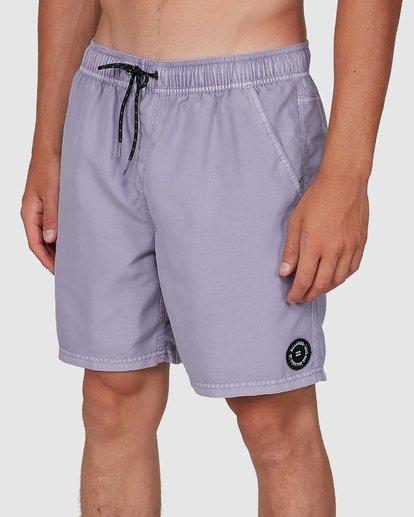 6 All Day Overdye Layback Boardshorts Purple 9572439 Billabong