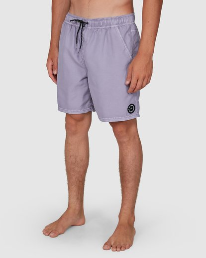 9 All Day Overdye Layback Boardshorts Purple 9572439 Billabong