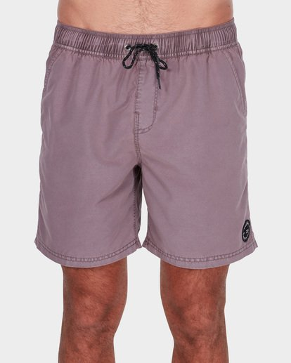 "2 ALL DAY OVERDYE 17"" LAYBACK BOARDSHORT Pink 9572439 Billabong"