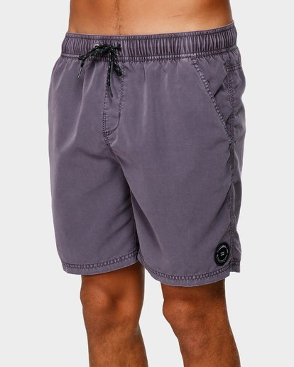 3 ALL DAY OVERDYE LAYBACK BOARDSHORTS Purple 9572439 Billabong