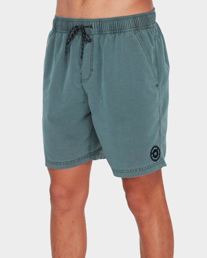 3 All Day Overdye Layback Boardshorts Green 9572439 Billabong