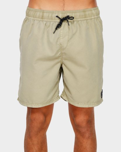 2 All Day Overdye Layback Boardshorts Beige 9572439 Billabong