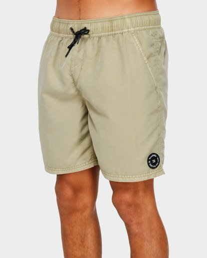 3 All Day Overdye Layback Boardshorts Beige 9572439 Billabong