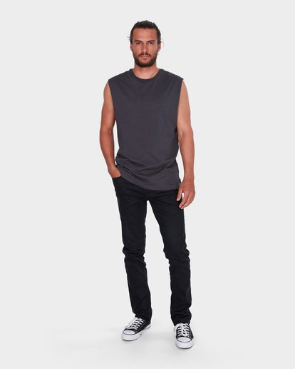 4 PREMIUM MUSCLE Black 9572509 Billabong