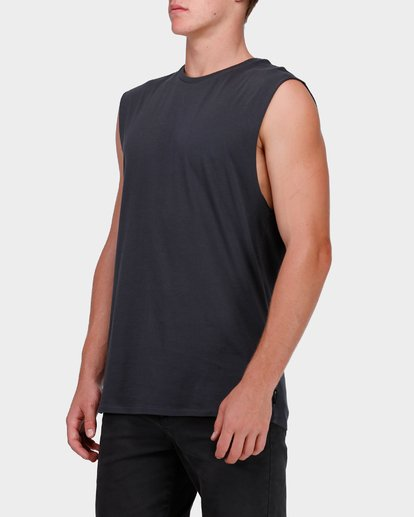 1 PREMIUM MUSCLE Black 9572509 Billabong