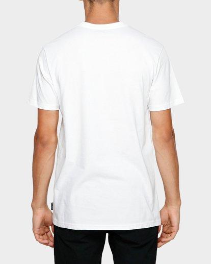 4 BOX IN PHOTO TEE White 9581061M Billabong