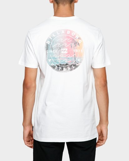 4 PHOTO WAVE STACK TEE White 9581072M Billabong