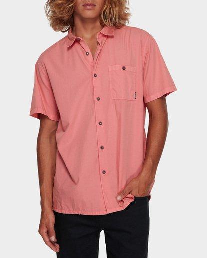 0 WAVE WASHED SHORT SLEEVE SHIRT Pink 9581209 Billabong