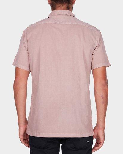 2 WAVE WASHED SHORT SLEEVE SHIRT Pink 9581209 Billabong