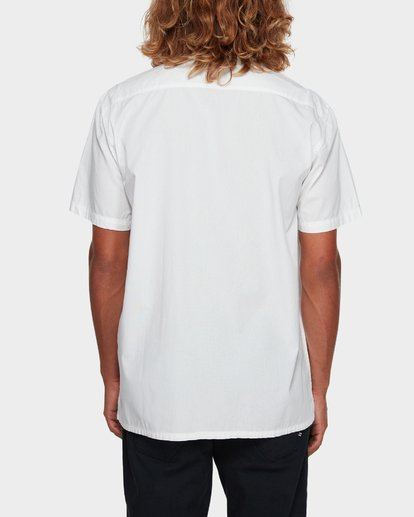 3 WAVE WASHED SHORT SLEEVE SHIRT White 9581209 Billabong