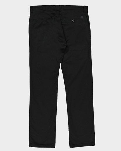 7 CARTER STRECH CHINO PANTS Black 9581307 Billabong