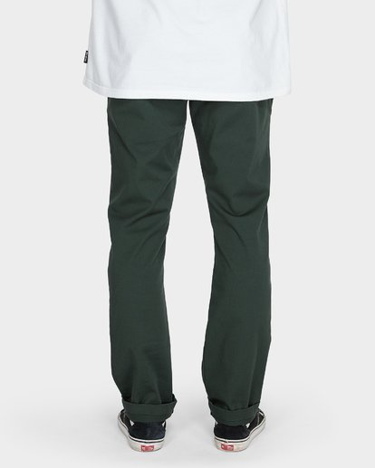 5 CARTER STRETCH CHINO PANTS Green 9581307 Billabong