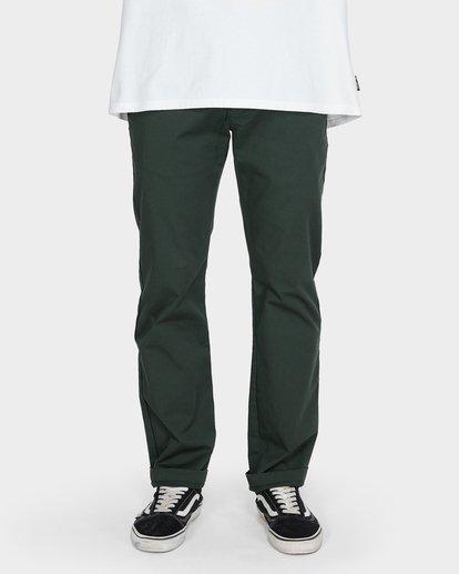 3 CARTER STRETCH CHINO PANTS Green 9581307 Billabong