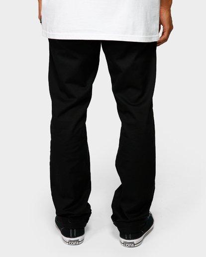 5 CARTER STRECH CHINO PANTS Black 9581307 Billabong