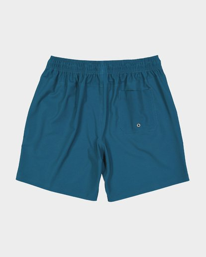 "1 ALL DAY SOLID LAYBACK 17"" BOARDSHORT Blue 9581415 Billabong"