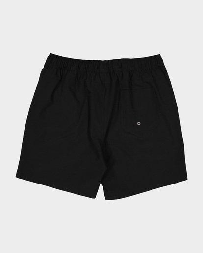 1 All Day Solid Layback Boardshorts Black 9581415 Billabong