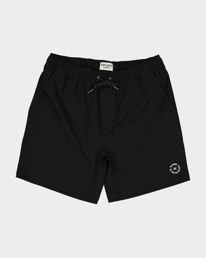 0 All Day Solid Layback Boardshorts Black 9581415 Billabong