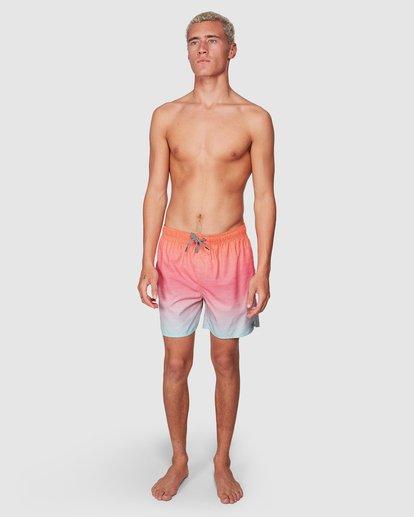 6 Sergio Layback Boardshorts Orange 9581417 Billabong