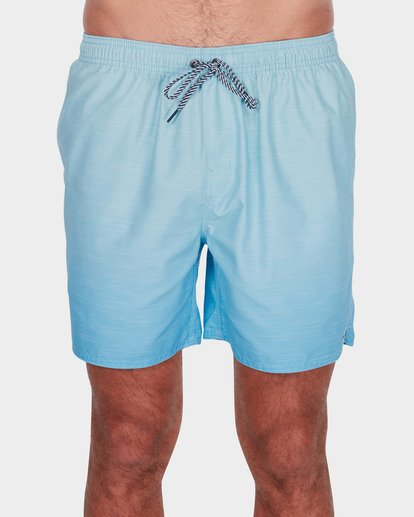 "0 SERGIO LAYBACK 16"" BOARDSHORTS Green 9581417 Billabong"