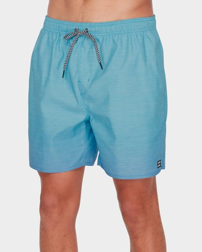3 SERGIO LAYBACK BOARDSHORTS Blue 9581417 Billabong