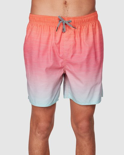 2 Sergio Layback Boardshorts Orange 9581417 Billabong