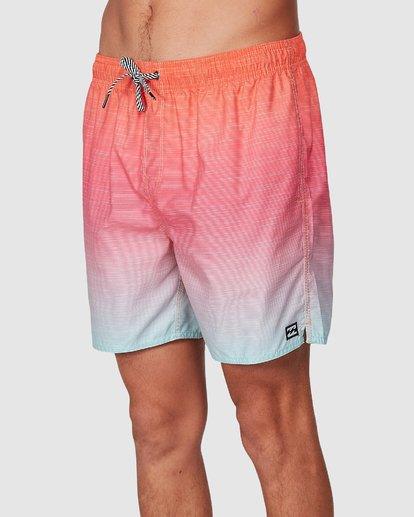 3 Sergio Layback Boardshorts Orange 9581417 Billabong