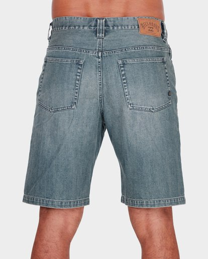 4 FIFTY DENIM WALKSHORTS Grey 9581730 Billabong