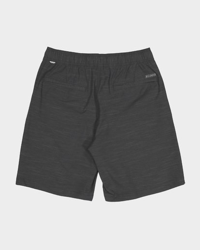 1 CROSSFIRE X SLUB ELASTIC WALKSHORT Black 9581734 Billabong