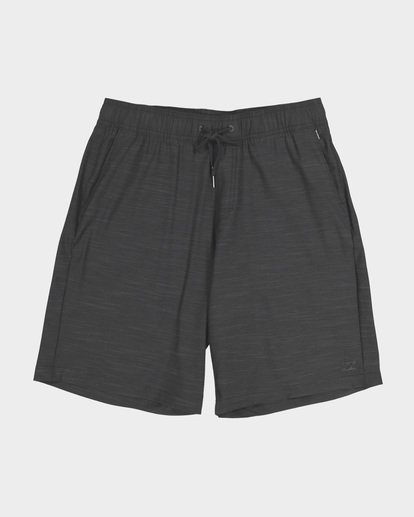 0 CROSSFIRE X SLUB ELASTIC WALKSHORT Black 9581734 Billabong