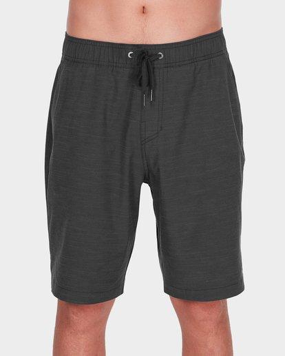 2 CROSSFIRE X SLUB ELASTIC WALKSHORT Black 9581734 Billabong