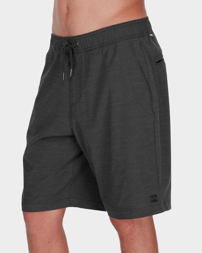 3 CROSSFIRE X SLUB ELASTIC WALKSHORT Black 9581734 Billabong