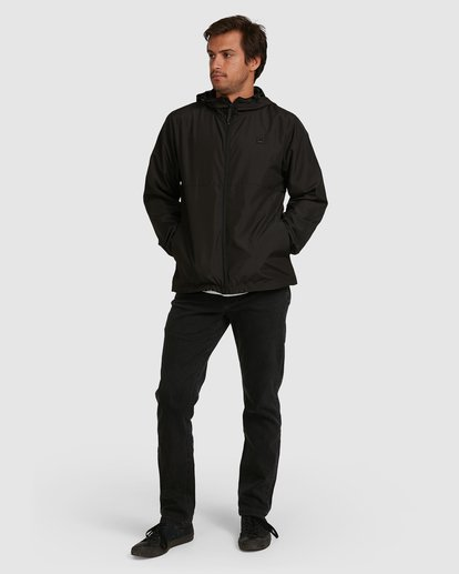 5 Transport Windbreaker Jacket Black 9581901 Billabong